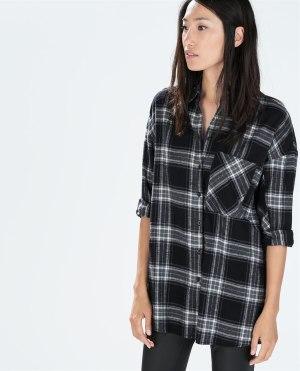 05 Zara checked shirt