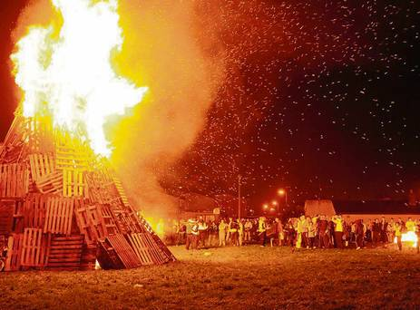 Bonfire Ireland